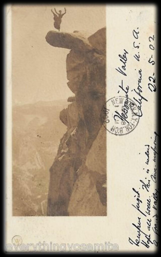 Glacier Point: Waitresses Kitty Tatch and Katherine Hazelston c. 1890s. Image Worthpoint.