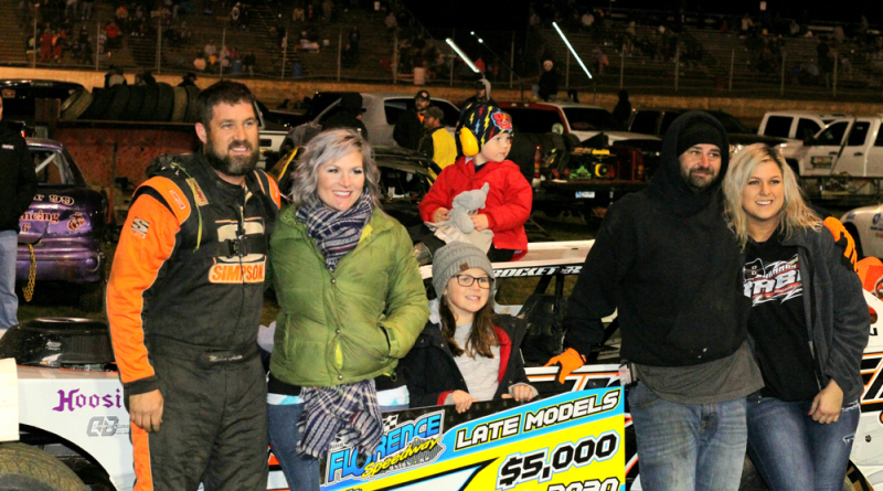 Chilton Charges to Fall 50 Win at Florence