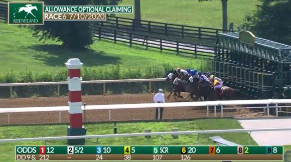 Keeneland Proactively Addresses Late Odds Shift :: Thoroughbred ...