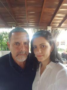 Luis Marcelo Aranha Camargo e Juliana Camargo