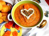 Рецепт Суп-пюре из морковки в домашних условиях
