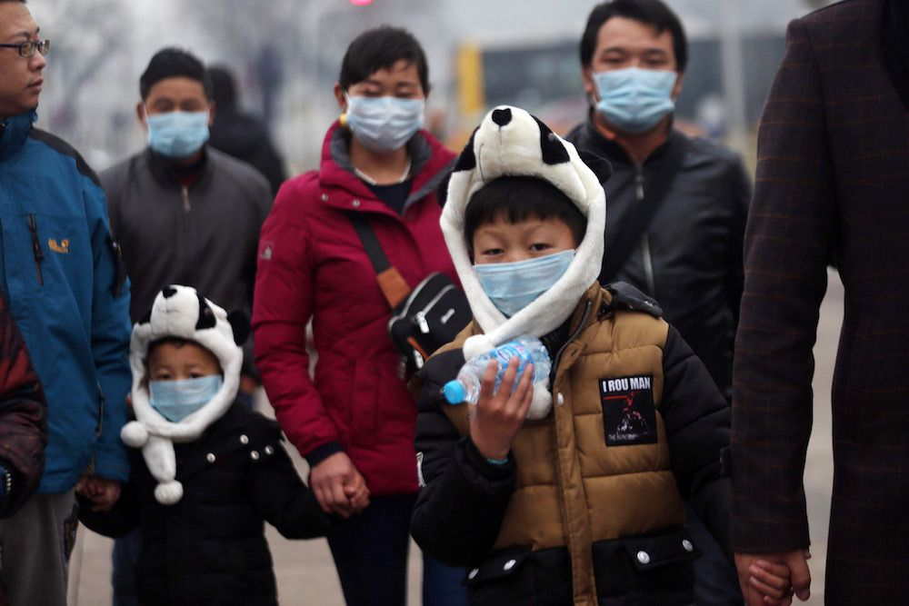 Beijing issues first red alert for heavy air pollution