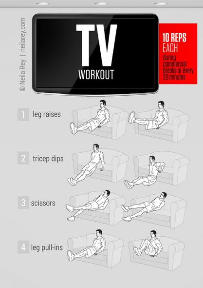 Tv-workout