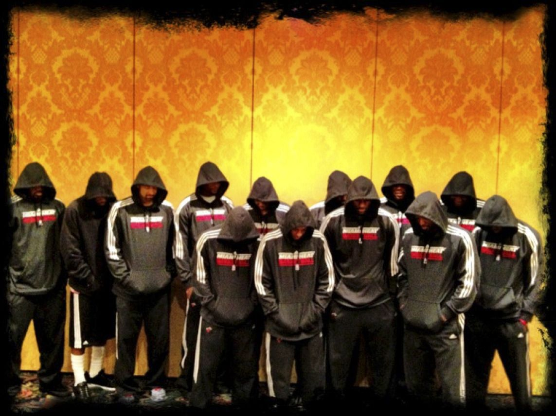 Heat Neighborhood Watch Basketball