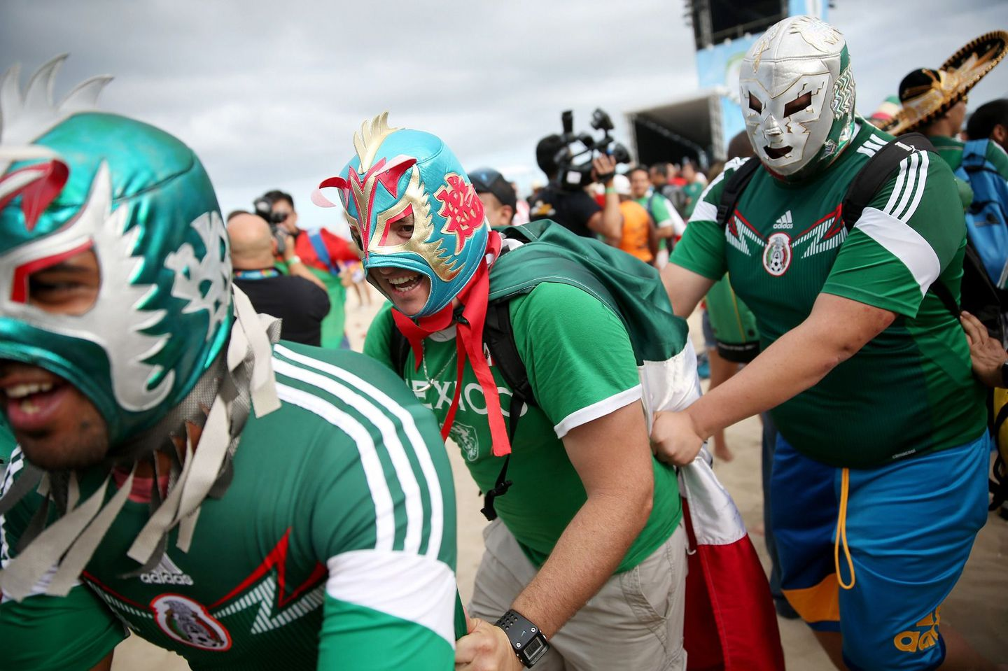 World-cup-mexico-fans-luchadores