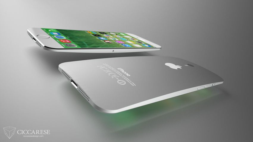 How the iPhone 6 Might Look With a Larger Screen