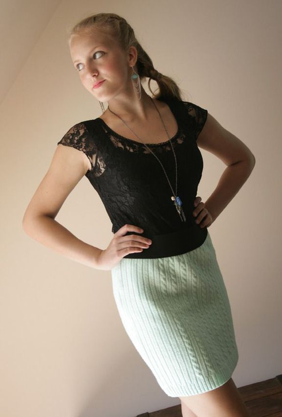 Mint-sweater-skirt-2