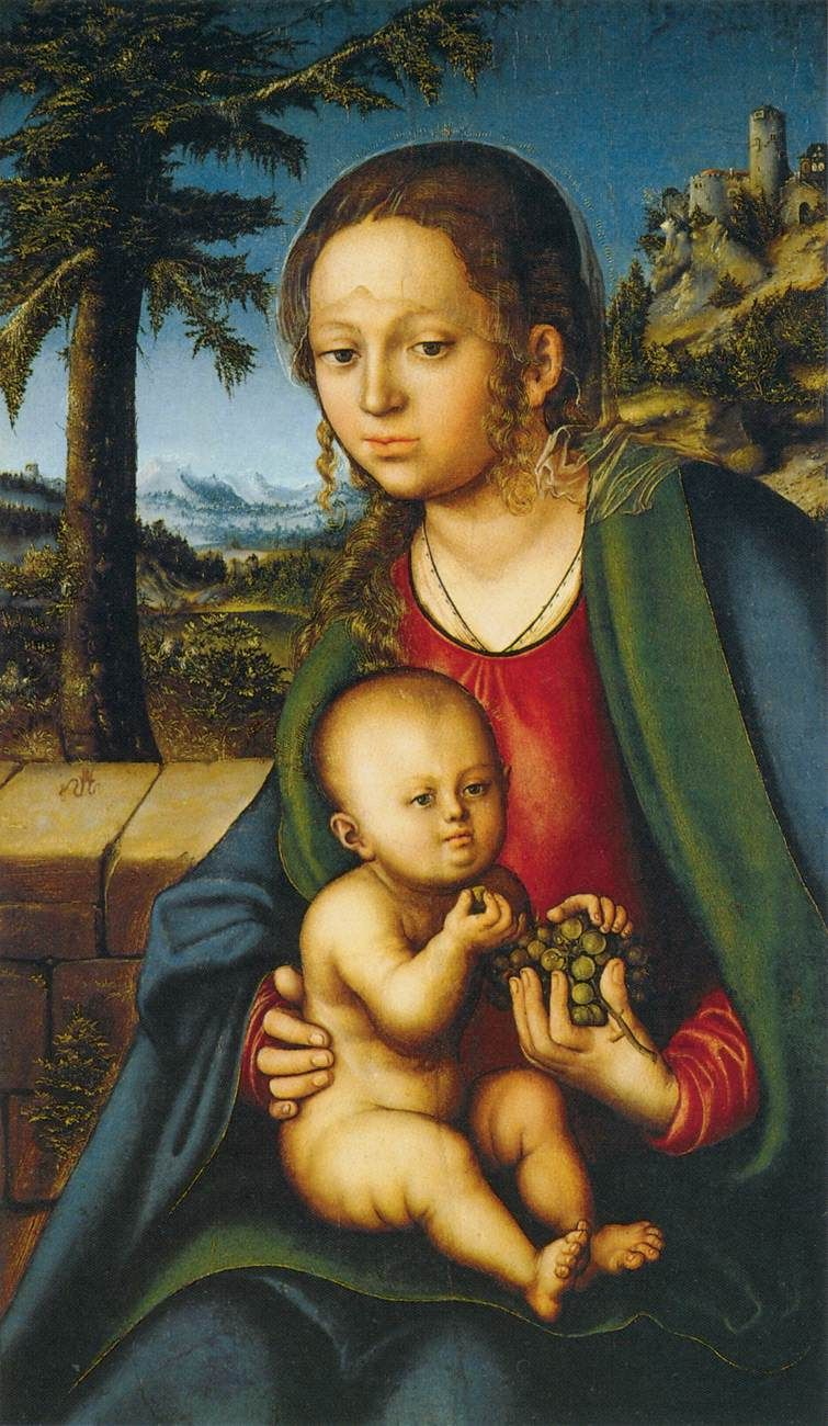 virgin-and-child-with-a-bunch-of-grapes