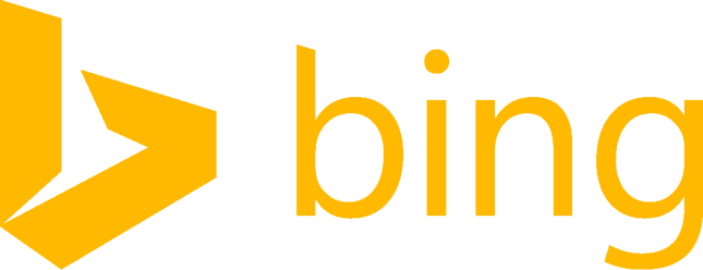 Bing logo orange RGB