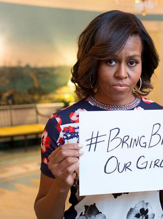 The First Lady and #BringBackOurGirls