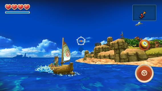 Oceanhorn byt Cornfox and Bros.