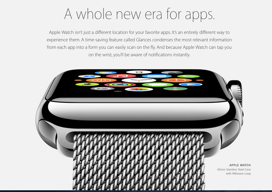 Apple Watch promo