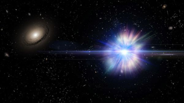 3 stars, banished from their galaxies, explode in deep space