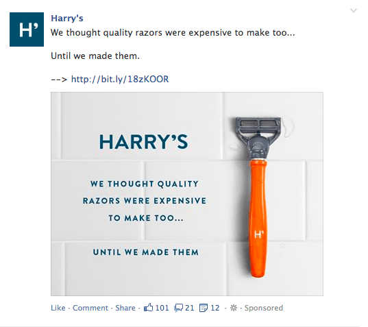 FB Ad Example