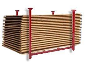 banquet folding table storage racks