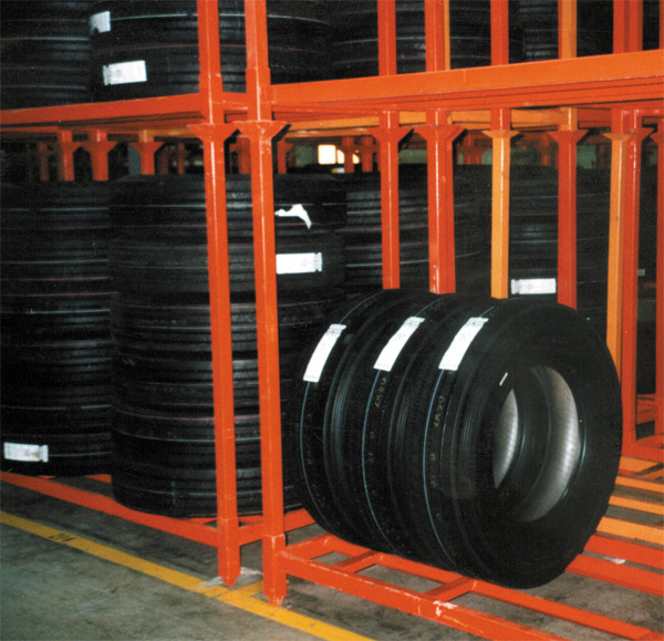 used tire racks used racking for sale