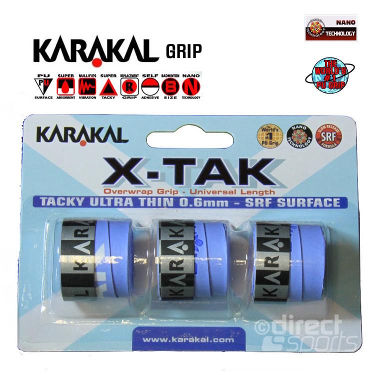 Karakal X-TAK Overwrap Grip ( loose )