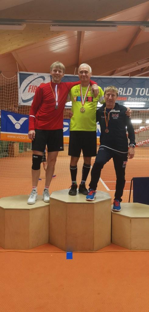Thomas Ostenfeld, VM-sølvvinder 55+
