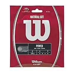 Wilson Sporting Goods 17 Gauge Natural Gut Tennis String