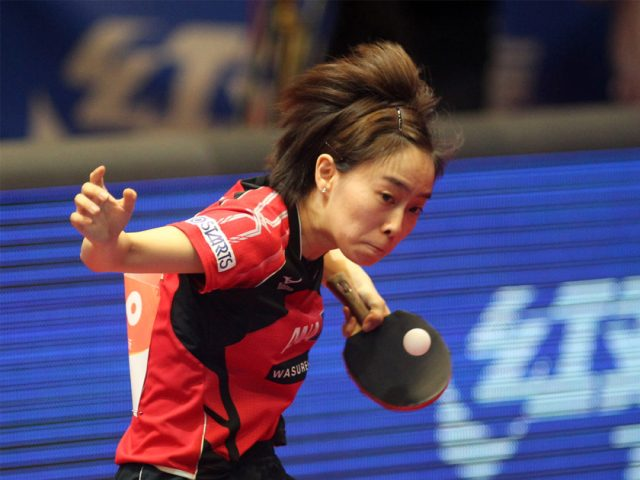 The Half Long Ball in table tennis