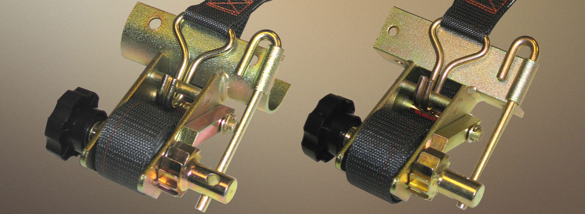 rack strap tie downs for truck and van