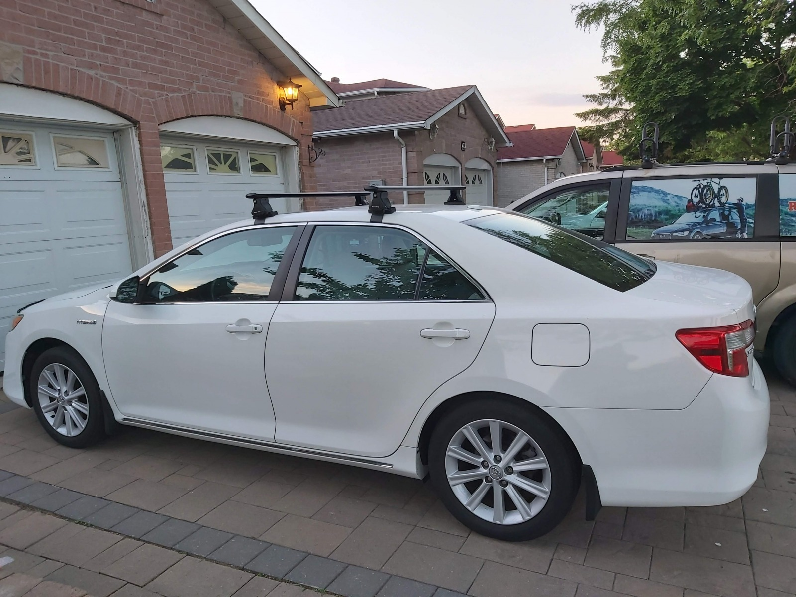 2014 toyota camry bare roof jet wing