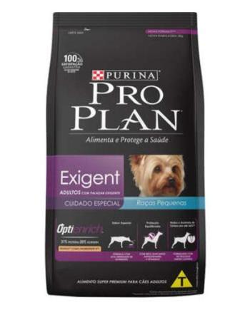 Ração Proplan Exigent Cães Adultos Raças Pequenas 2Kg