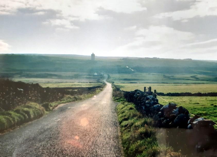 route entre Doolin et falaises de Moher, région du Burren, comté de Clare, Irlande