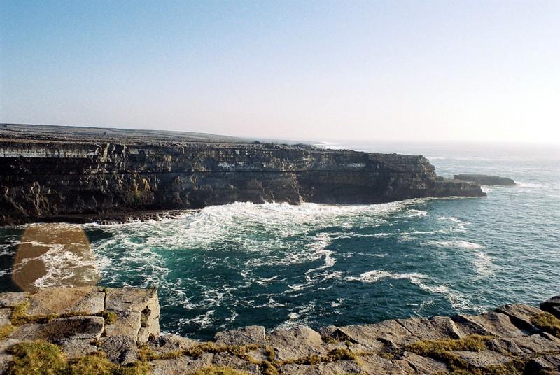 Pointe de Blackfort Inishmore, Iles d'Aran, comté de Galway, Irlande