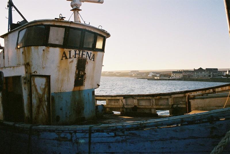 Port de Kilronan, Inishmore, Iles d'Aran; comté de Galway, Irlande