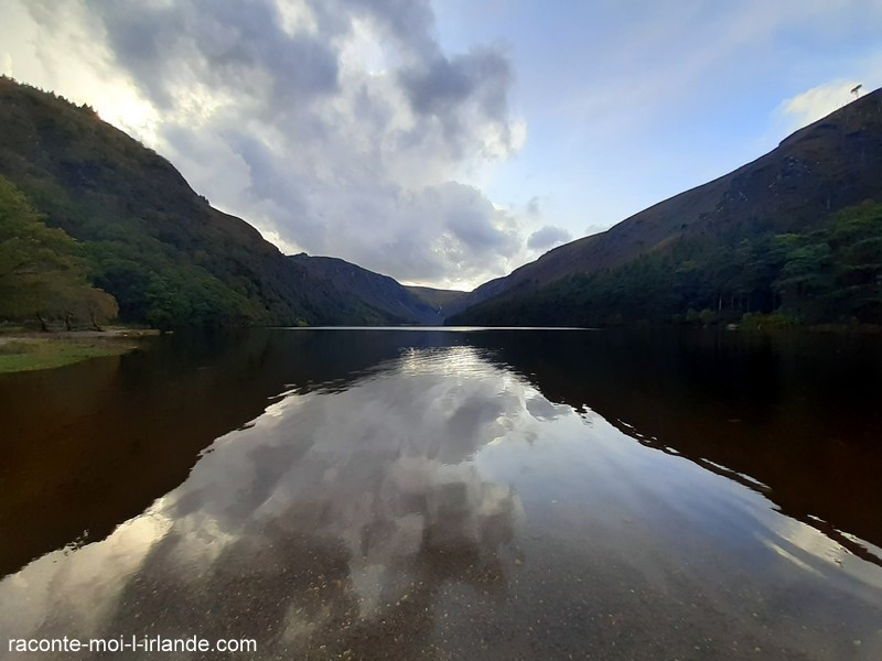 Upper Lake Glendalough Irlande