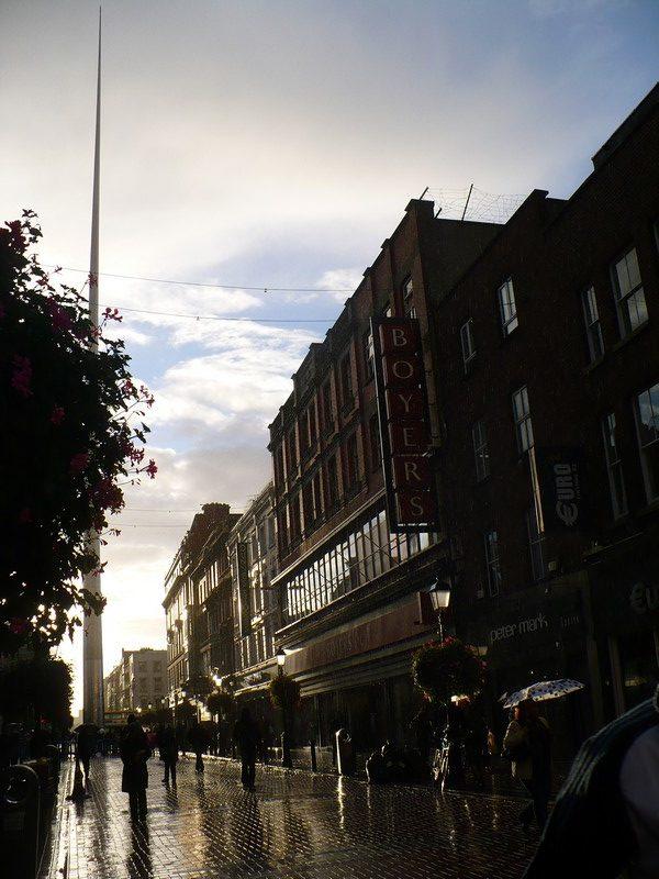 Pluie soleil temps Dublin
