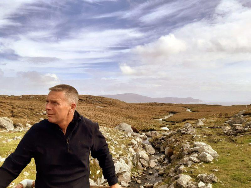 Derek Davidson guide Walk West Ireland