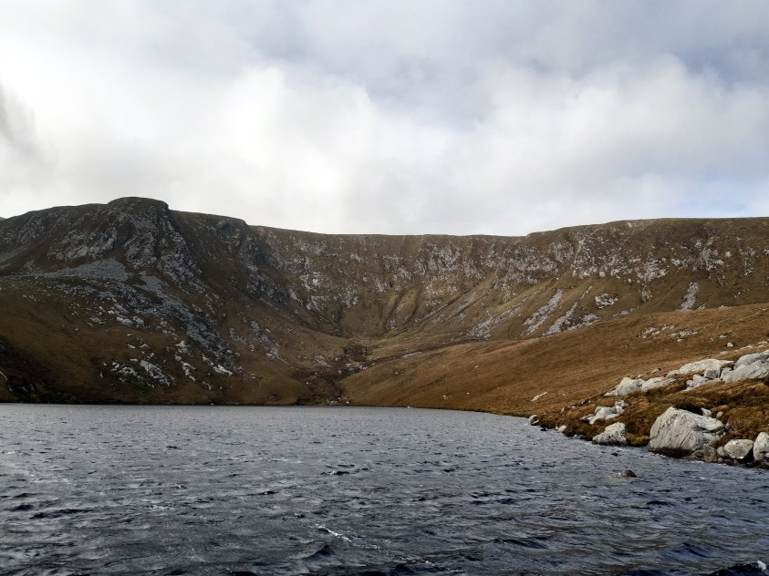 Lough Accorymore lac d'Irlande
