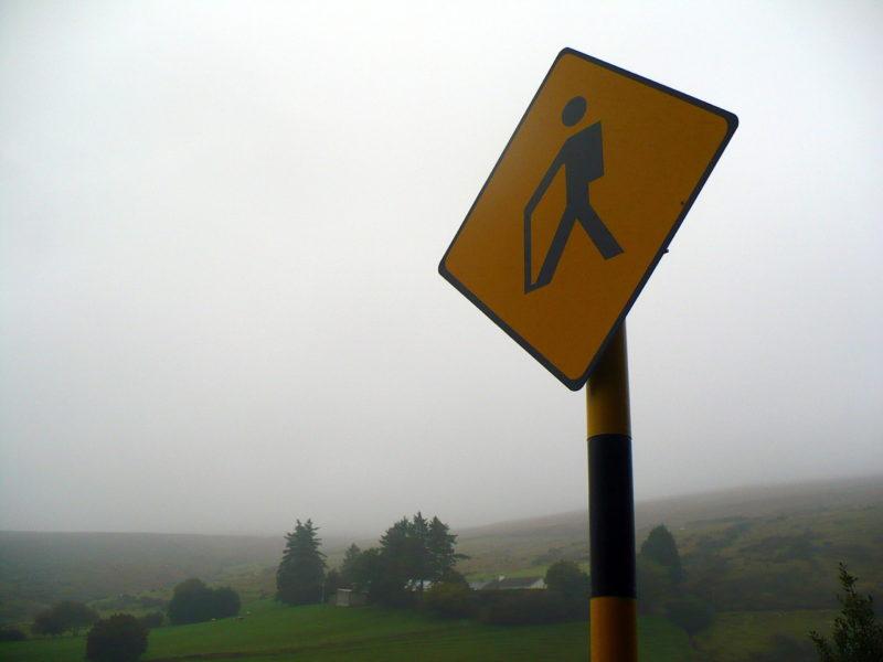 Wicklow way départ dans les Dublin mountains
