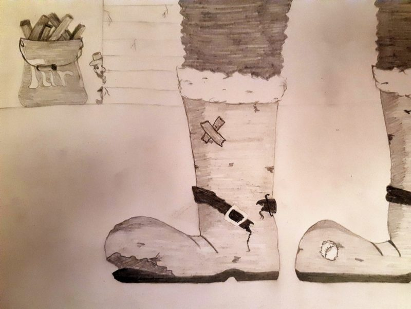 Séamus et les bottes du Père-Noël