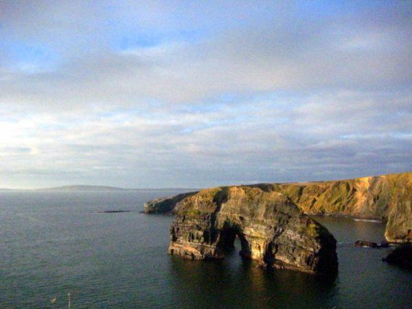 Ballybunion Arche naturelle maritime Kerry Irlande