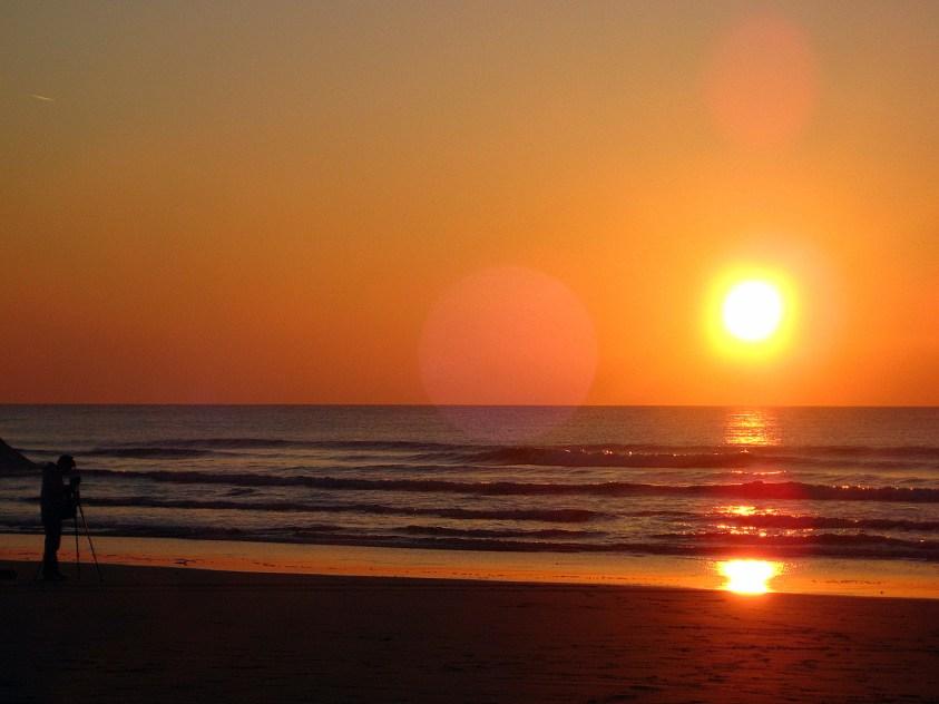 Coucher de soleil Irlande