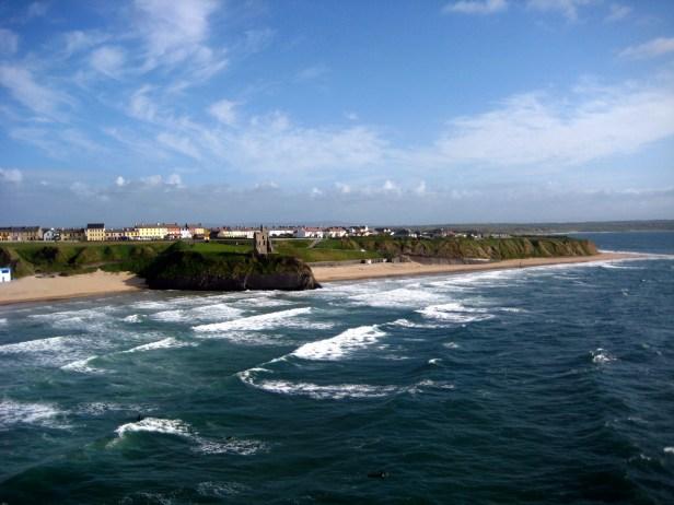 Vue sur côte Atlantique Kerry Irlande