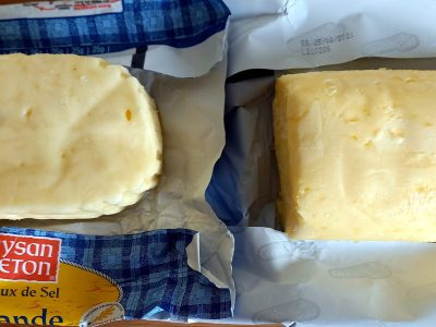 Beurre cristaux de sel