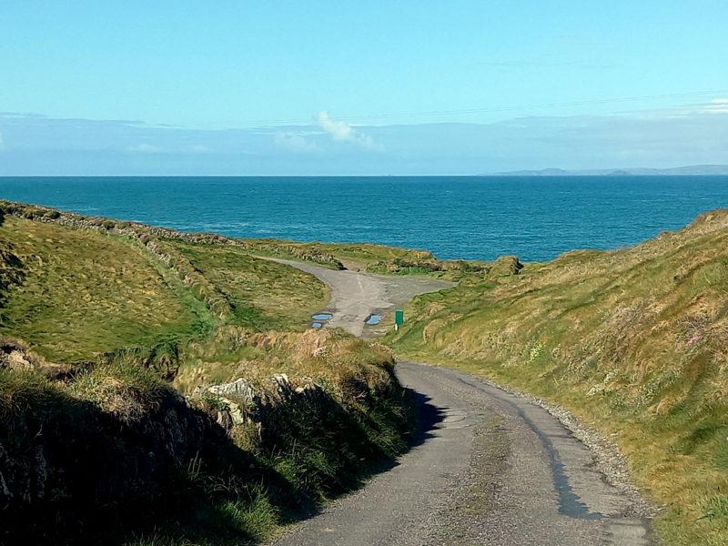 Route rurale en Irlande