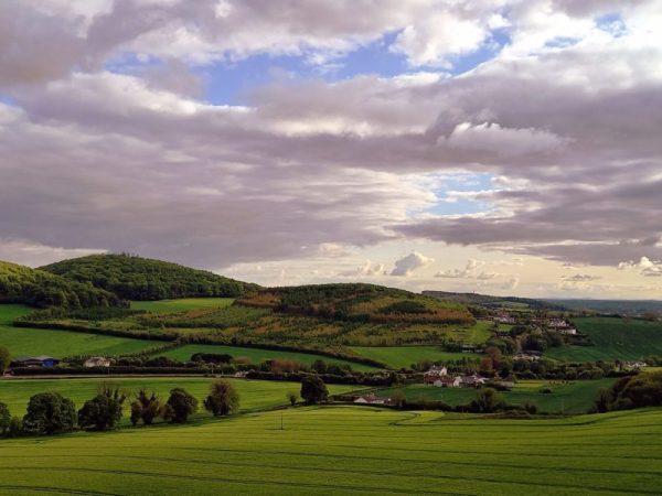 Paysage irlandais près de Portaoise