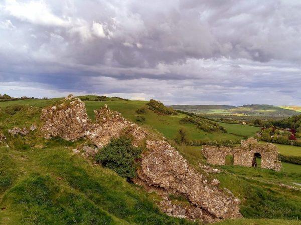 Ruines médiévales Irlande