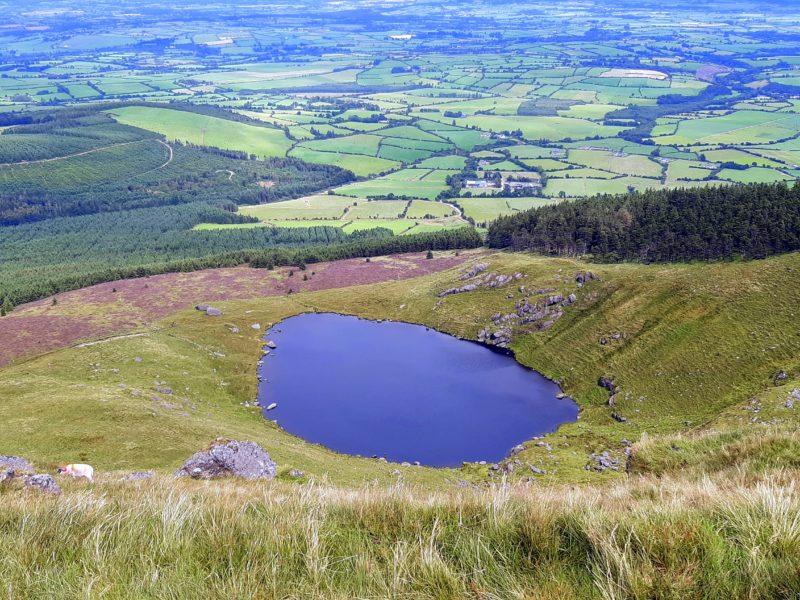 Lough Mohra et vallée Waterford Irlande