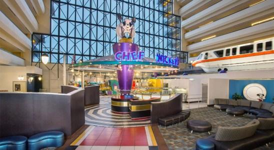 Salle Restaurant Chef Mickey's Walt Disney World