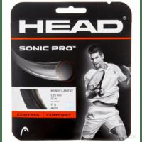 Head Sonic Pro 1.25 black (στρογγυλό)