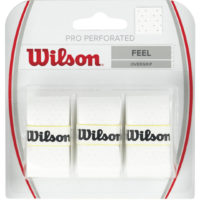 Wilson Pro Perforated Overgrip x 3 (White)
