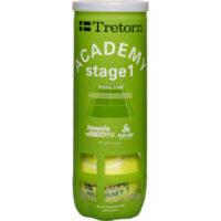 Tretorn Stage 1 Academy Green Balls X 3
