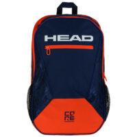 Head Core Tennis Backpack (Blue / Orange)