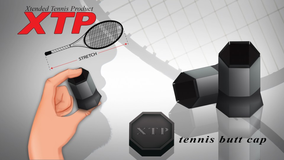 Growing Market For The Xtp Xtreme Tennis Product Butt Cap -1944